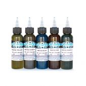 Fusion Farben Muted Set 5 x 30ml
