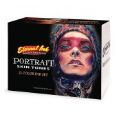 Eternal Ink Portrait Skin Tones 12 Bottle Set 1oz