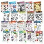 TATTOO FLASH BUCH PAKET-ANGEBOTEN