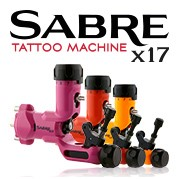 SABRE X17 MACHINES À TATOUER ROTATIVES