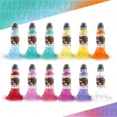 Encre World Famous Ensemble en Pastel 30ml