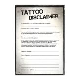 PDF Tattoo Disclaimer Sheet