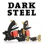 Dark Steel Tattoo Machines