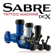 Sabre DCX Rotary Tattoo Machines