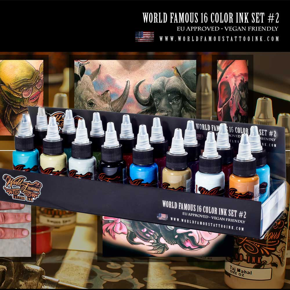 World Famous Ink Colour Sets