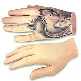 Synthetic Tattoo Hands