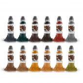 World Famous Ink Earthtone Set 1oz
